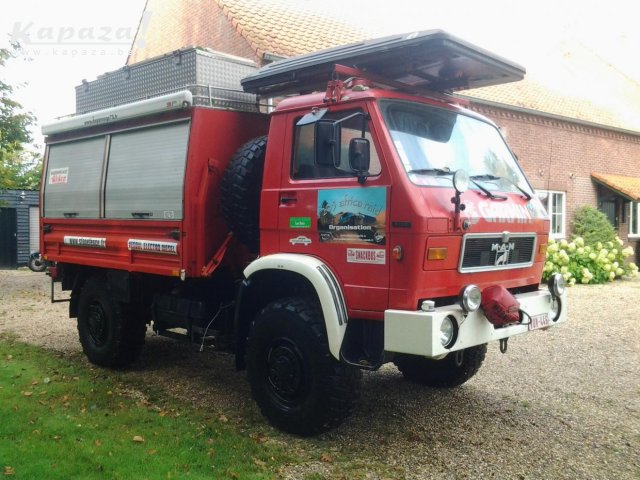 MAN 8.136 4X4 – Awesome expedition Camper Base/catering Vehicle – Belgium – €11,000