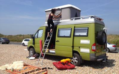 SOLD Mercedes 312 4×4 Camper Overland – UK – £22000