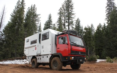 1990 Mercedes 917 4X4 Custom XPCube – California – $195,000