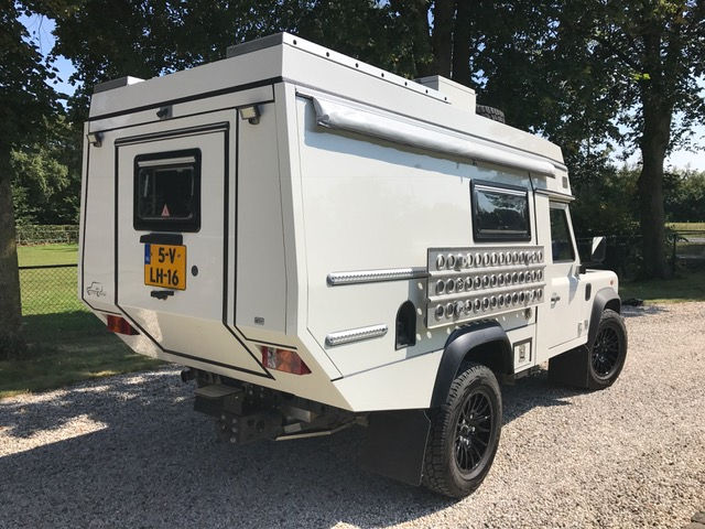 White Land Rover Defender For Sale Holland