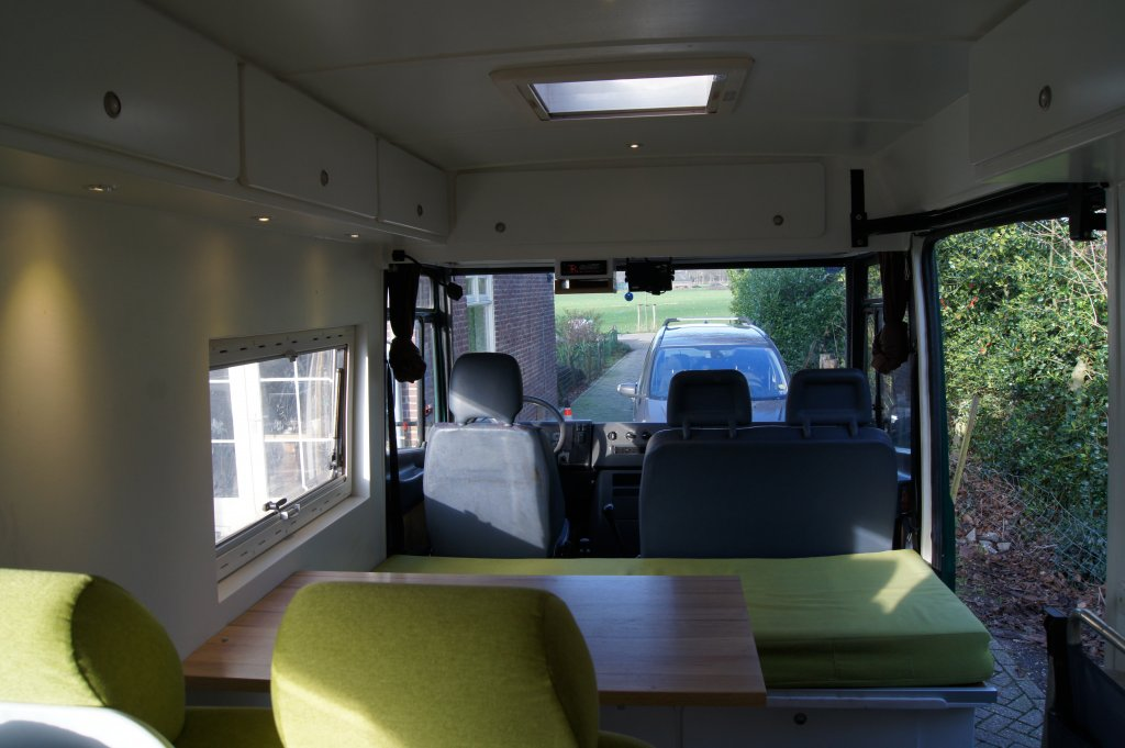Mercedes Vario For Sale - Interior Layout