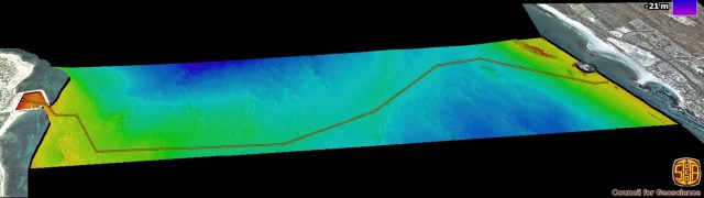 Long Walk Bathymetric Data