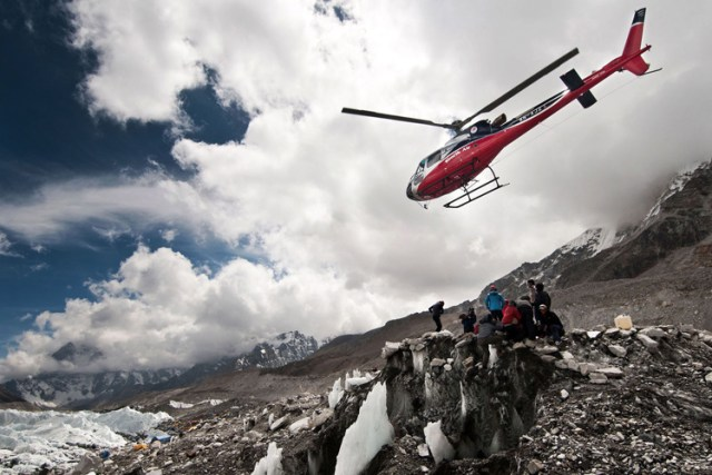 Helicopter-Everest