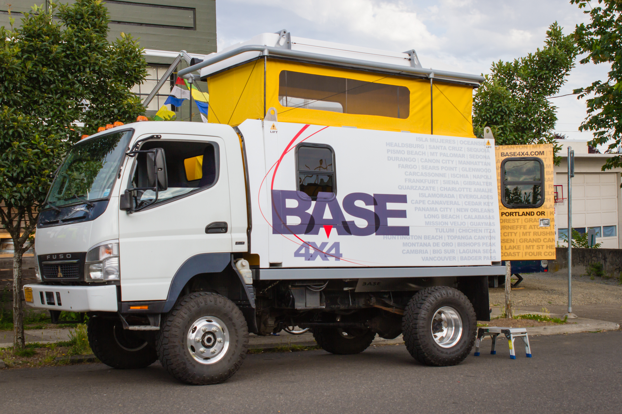 portland s base4x4 debuts prototype expedition truck. Black Bedroom Furniture Sets. Home Design Ideas
