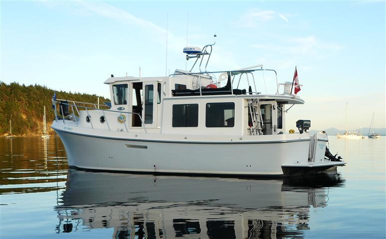 Sold Boat 2008 American Tug 34 W EC Package Expedition