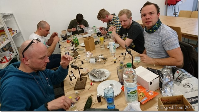 Fly Friday tying meetings @fischen.ch
