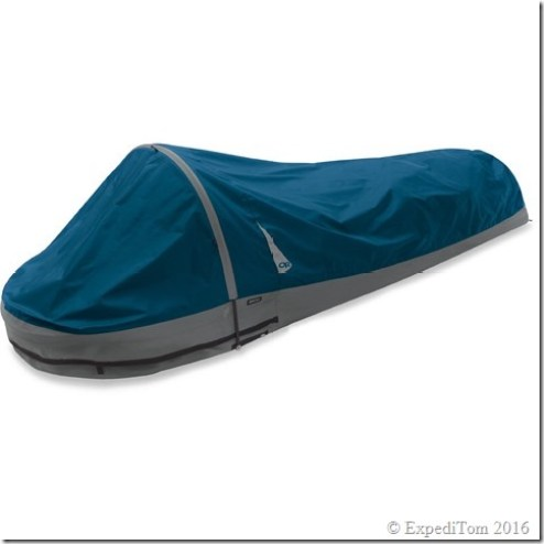 Outdoor Research Alpine bivy with pole.