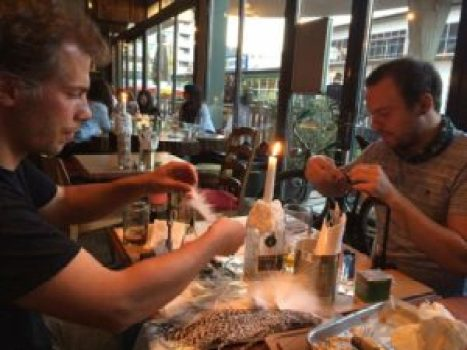 Firebelly Fly Tying Meeting