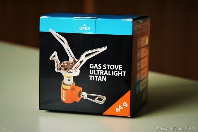 LACD Gas Stove Ultralight Titan ExpediTom13