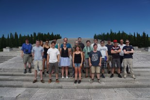 Participants of the history excursion