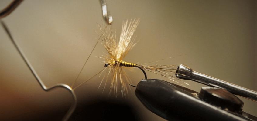 Tying an Olive Dun with Mallard Wings