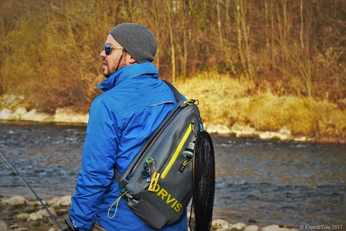 Review about the Orvis Waterproof Sling Bag available by March 2017 is coming. ExpediTom goals 2017