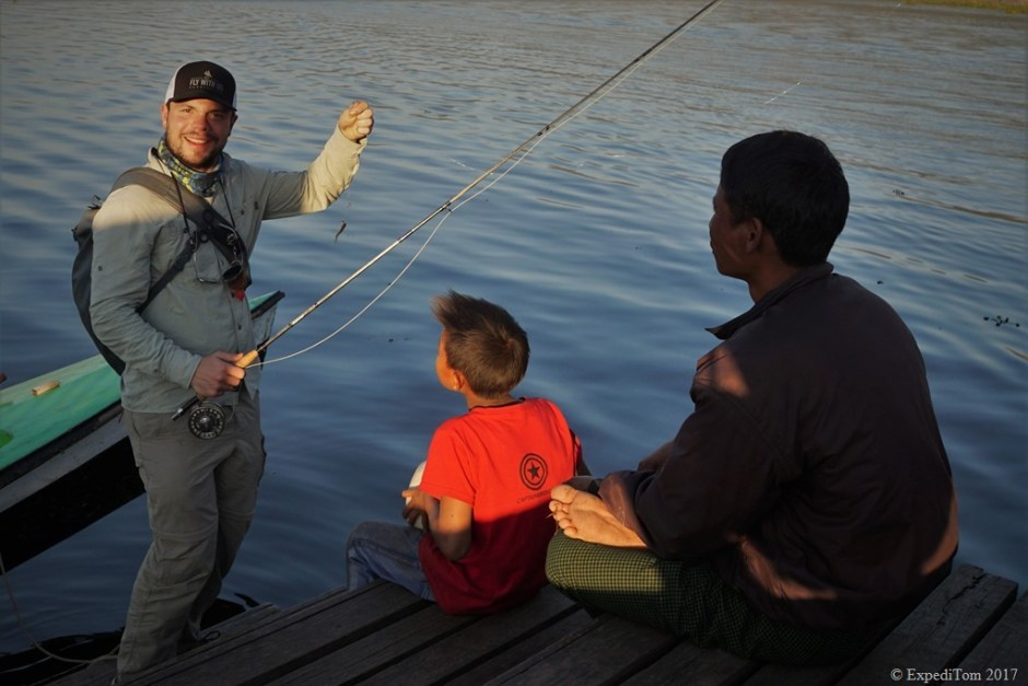 Fly Fishing at Inle Lake Myanmar (11)