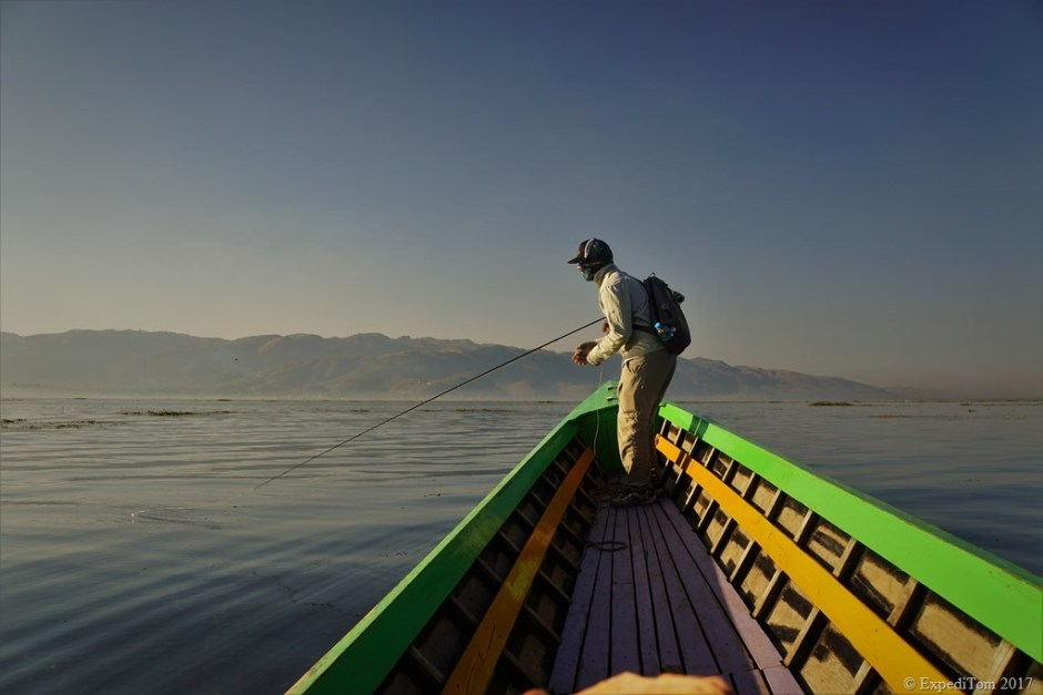 Fly Fishing at Inle Lake Myanmar (8)