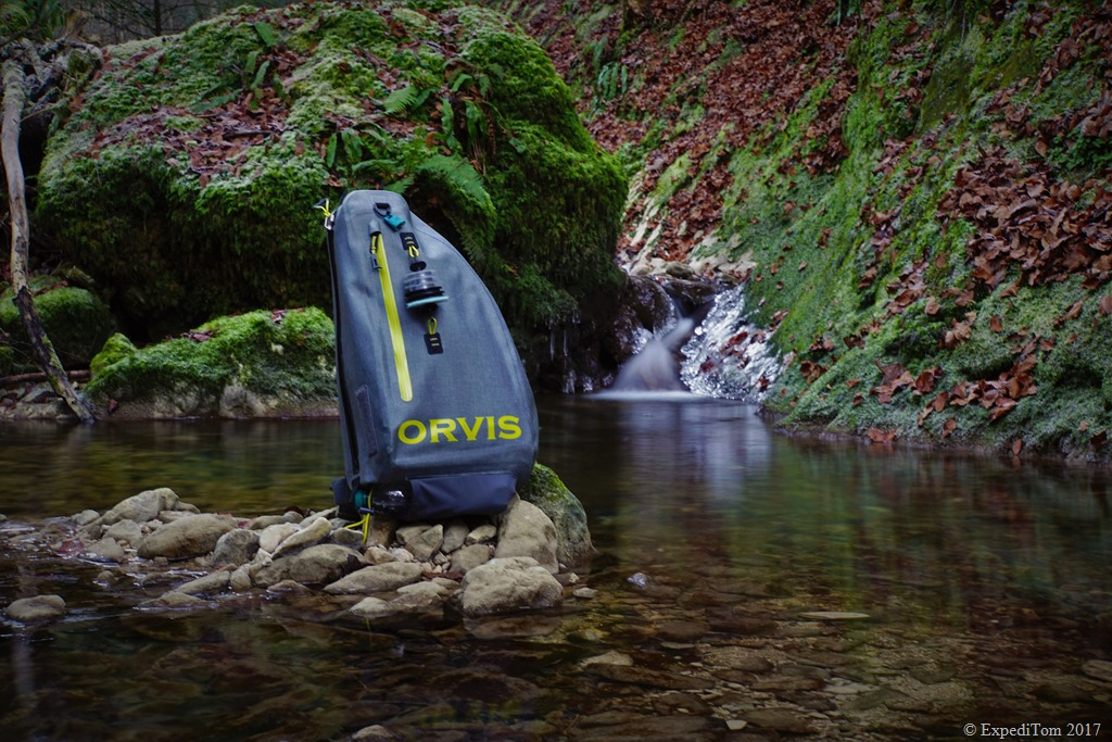 ALL NEW! Orvis Waterproof Sling Pack available by March 2017