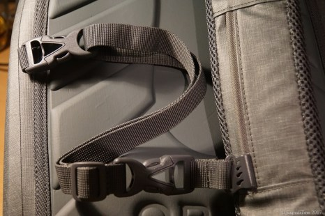 Messenger strap of the Orvis waterproof sling pack