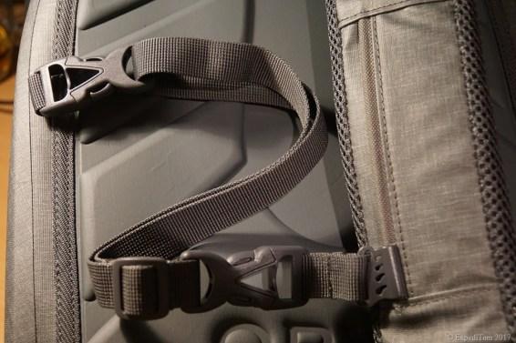 Messenger strap of the Orvis waterproof sling pack