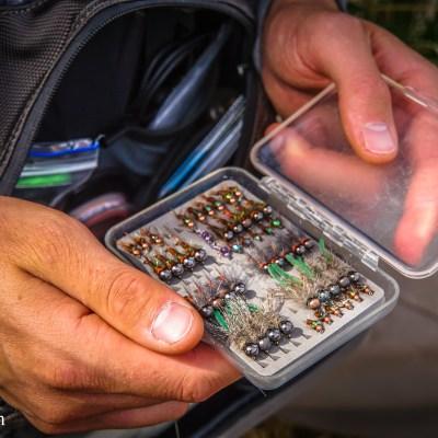 A fly fisherman's secret fly box