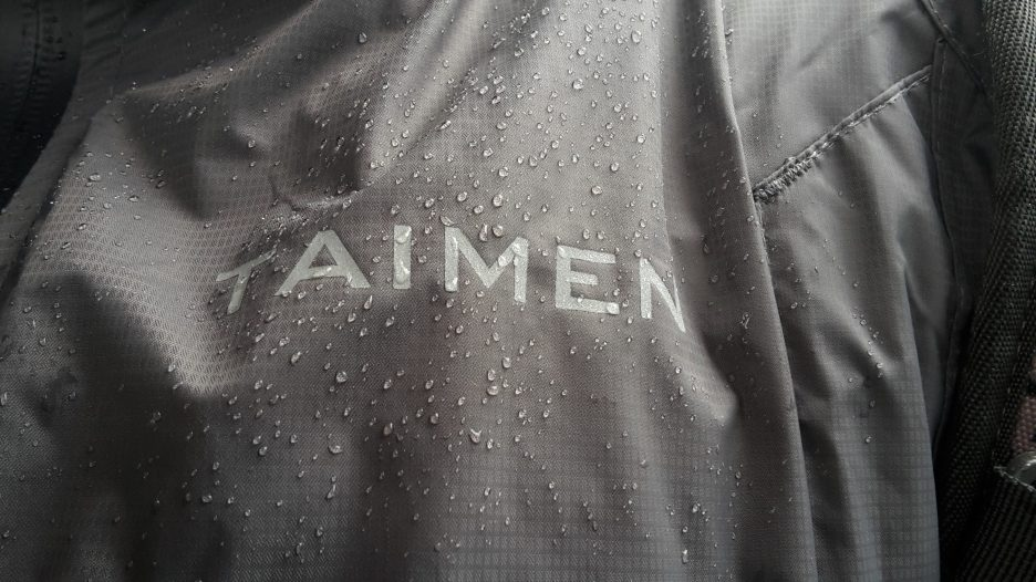 The Taimen Shilka wading jacket