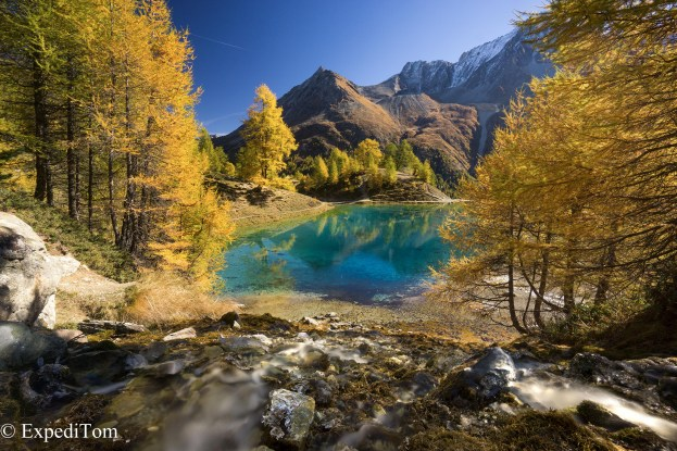 Lovely Autumn day in the Canton Valais