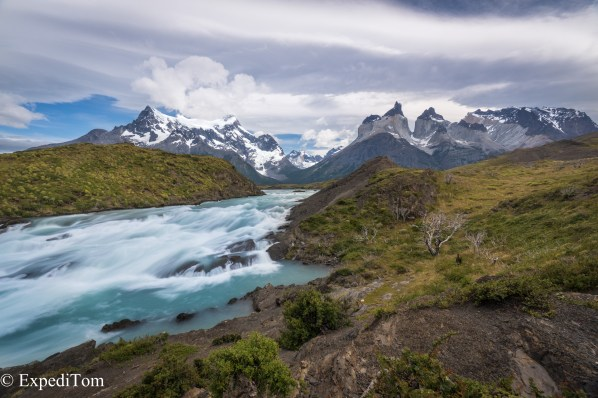 Torres del Paine and Rio Torre