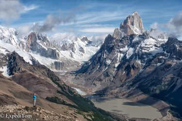 Cerro Torre and Fitz Roy Patagonia
