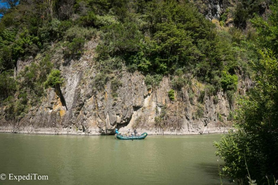 The Rio Simpson is famous for float trips and they are offered by various guides and lodges.