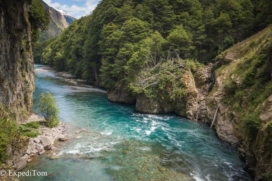 Fly fishing in Patagonia offers stunning waters