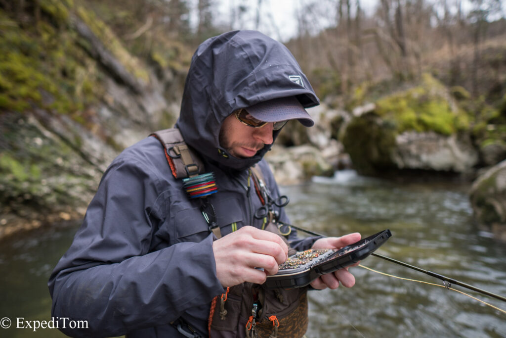 Trout season opening 2018 with André