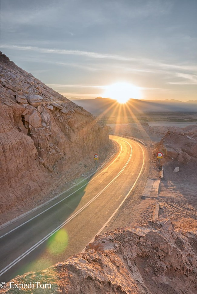 Soak up the sun Atacama Desert