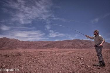 Casting on Mars