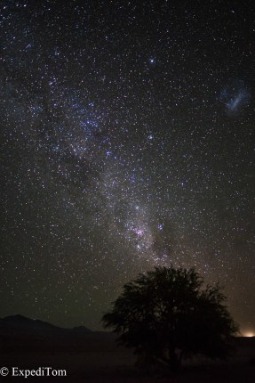 Nightsky in the Atacama Desert