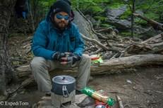 Huemul Trek 2018 Day 1 Camping Argentina Lago Tore