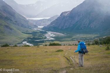 Huemul Trek 2018 Hiking Day 1