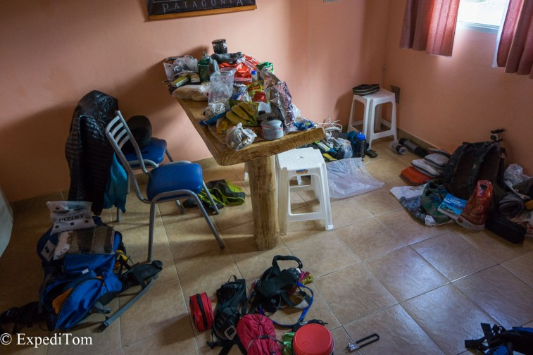 Huemul Trek 2018 packing list gear preparation (2)