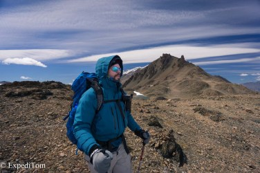 Paso del Viento Huemul Trek 2018 Hiking trekking outdoor ExpediTom