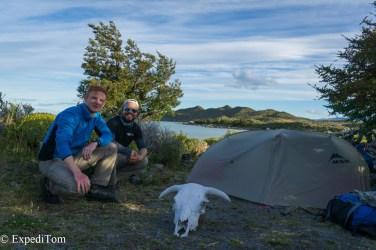 Third camping spot Huemul Trek 2018 Camping Trekking Hiking