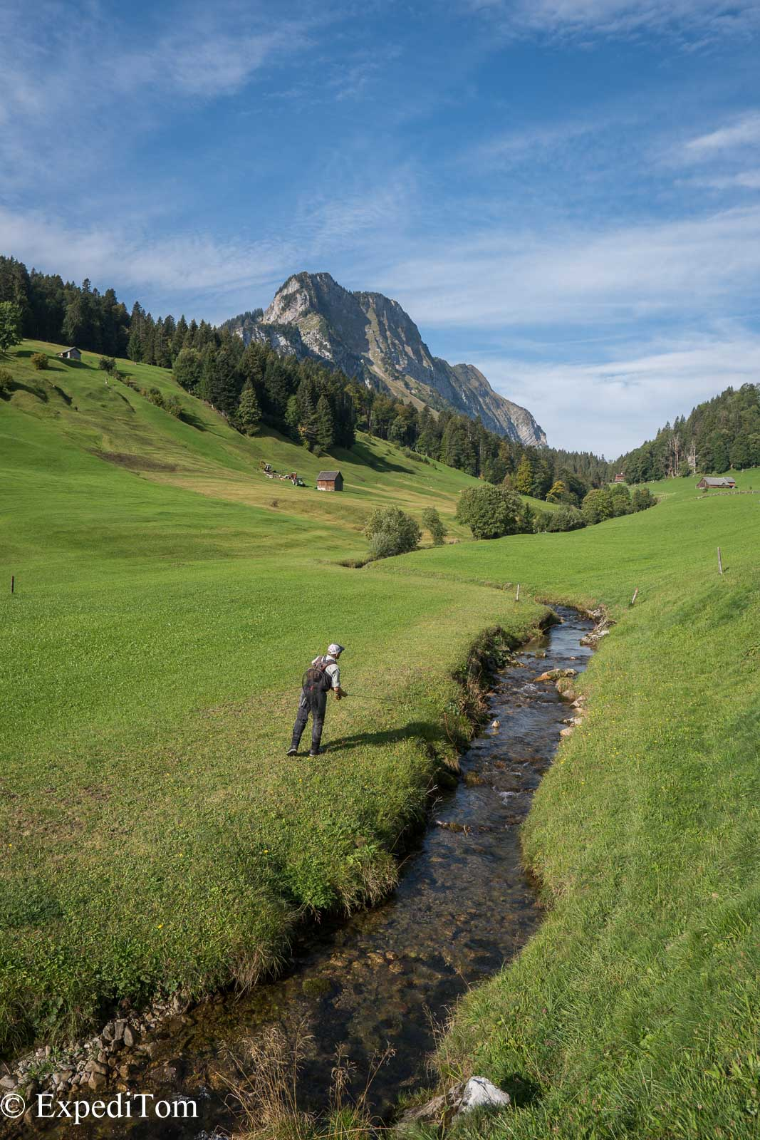 Fly Fishing Swiss Alps Canton Glarus