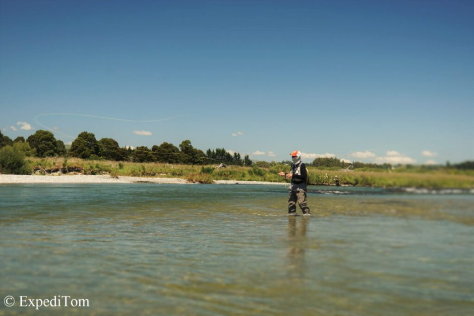 How about fly fishing abroad to cure cabin fever?