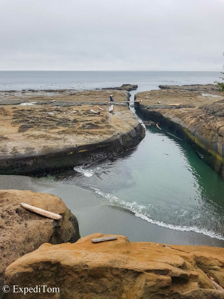 West Coast Trail Surge Channel