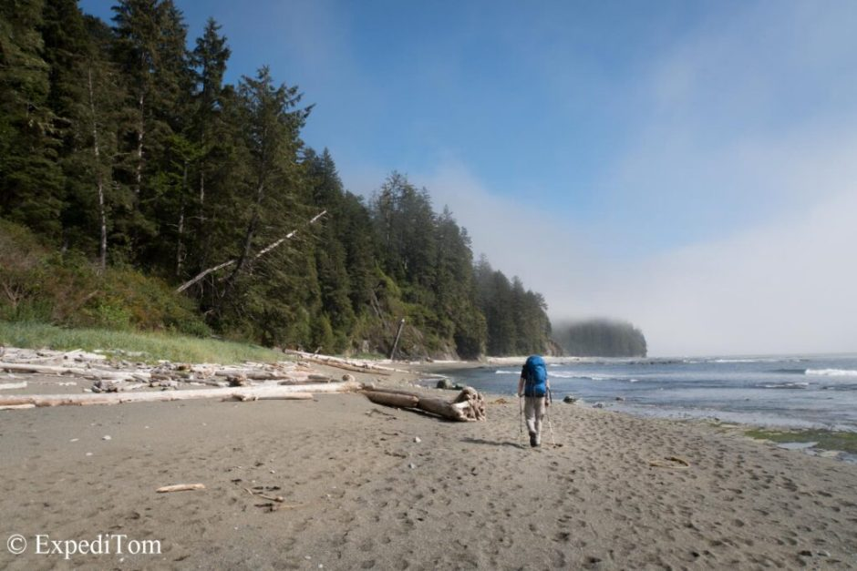 Wonderful sceneries along the West Coast Trail WCT