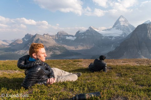 Take in the scenery at Mount Assiniboine