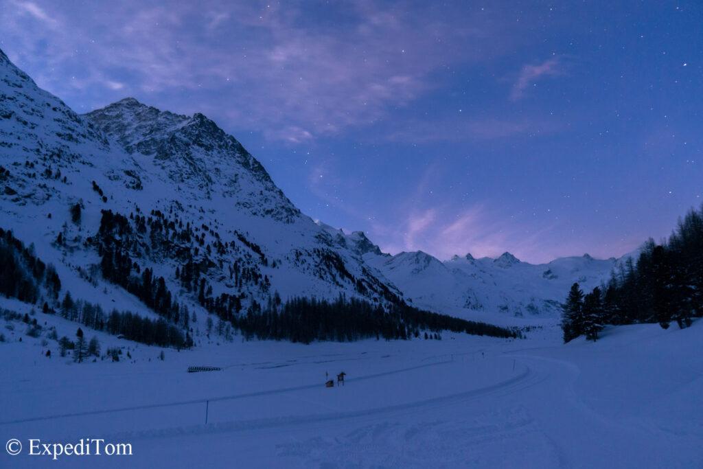 Morning views before visiting ice caves