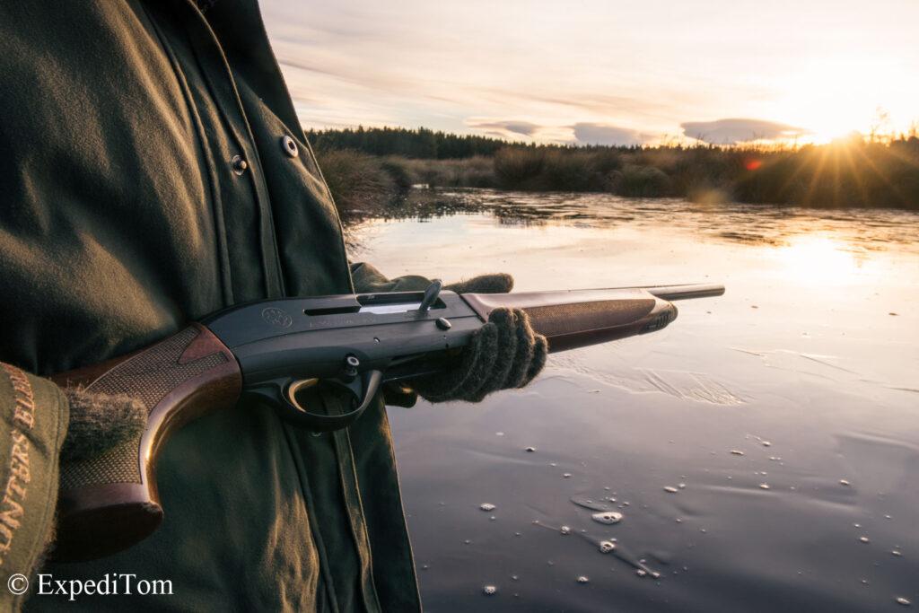 Duck hunt morning mood