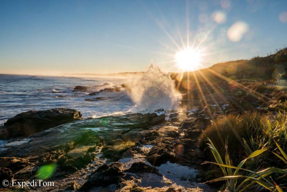 Sunrise West Coast New Zealand