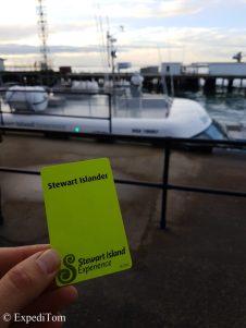 Should I stay or should I go to Stewart Island