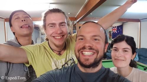 Felix, Nigel and Gabriel