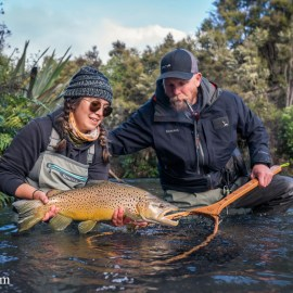 Fly Fishing the Taupo Region