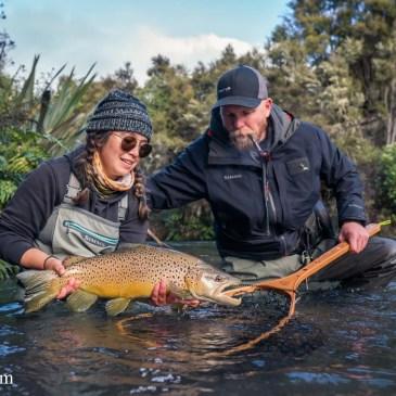 Fly Fishing the Taupo Region