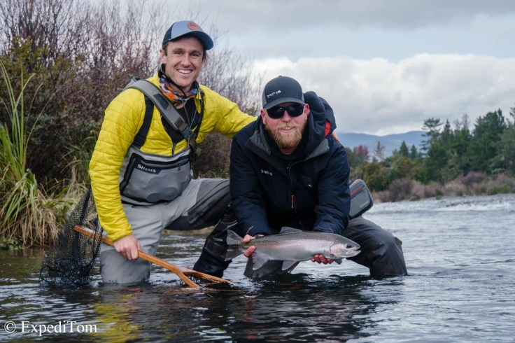 Fly angler: cut from the same cloth